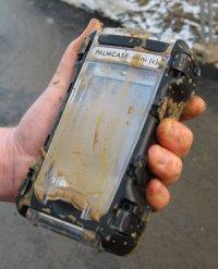 Palmcase schützt PDA bei der mobilen Zeiterfassung auf Baustellen